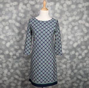 Talbots Geometric Dress
